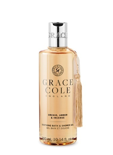 Grace Cole Orchid, Amber & Incense Duş Jeli 300 ml Renksiz